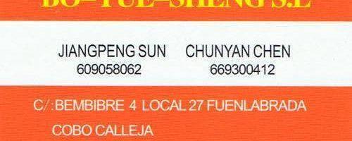 Bo Yue Sheng artículos de bazar