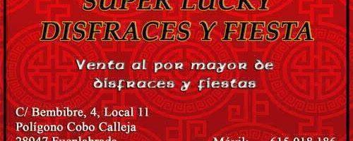 Disfraces y Fiesta Super Lucky