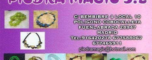 Mayorista Bisutería Piedra Magic almacén de materiales para fabricar