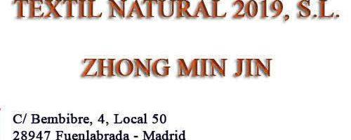 Textil Natural 2019 mayorista de complementos