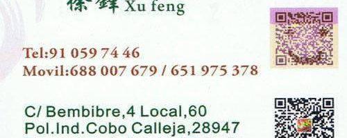 Mayorista de juguetes Xu Feng