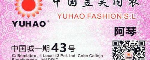 Mayorista lencería Yuhao Fashion